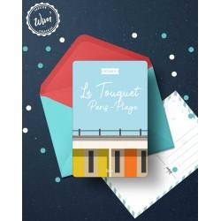 Carte postale Le Touquet