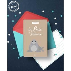Baie de Somme - Détente - Carte Postale