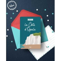 Carte postale de la Côte d'opale