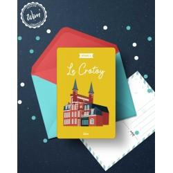 Le Crotoy - Détente - Carte postale