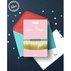 Oye-plage - Détente - Carte postale
