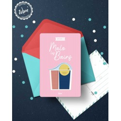 Malo-les-Bains - Détente - Carte postale