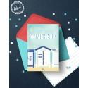 "Wimereux - ""Cabine"" - Carte postale"