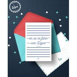 """Carte postale Wimereux """"Balade sur la digue"""""""