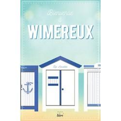 "Carte postale Wimereux ""Cabine"""